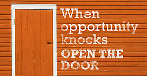 Knocking Opportunity