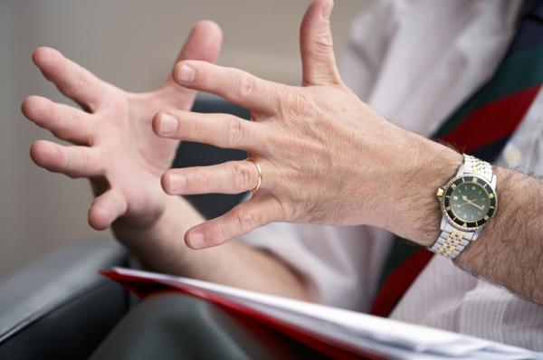 hands talking