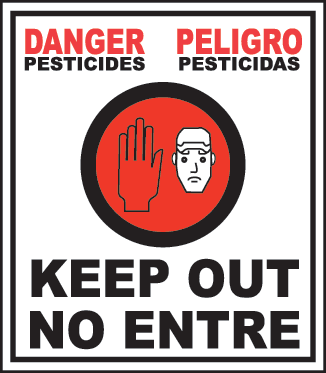 Danger - Pesiticides