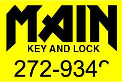 Main key and lock