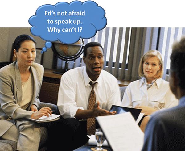 Speaking up in Meetings