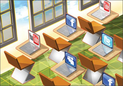 Social Medial Classroom resized 600