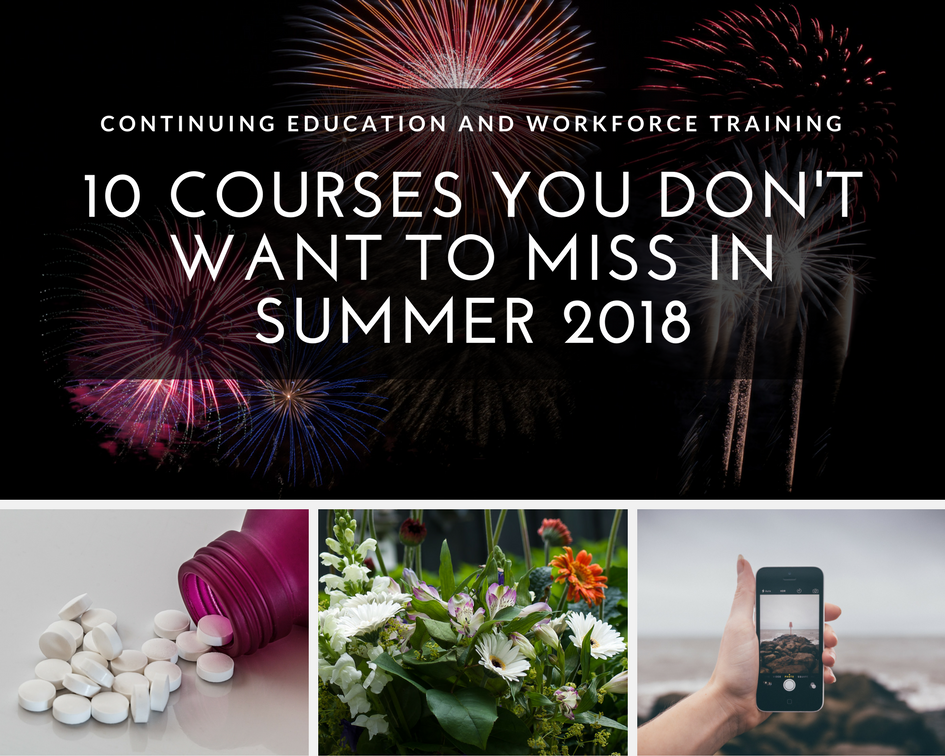 10 Courses you dont' want to miss in summer 2018