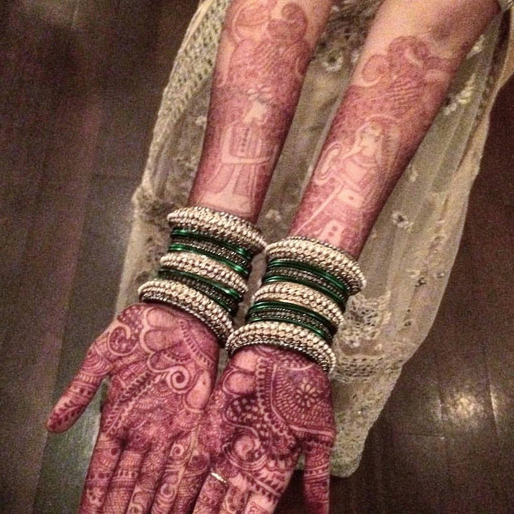 Mendhi Night henna