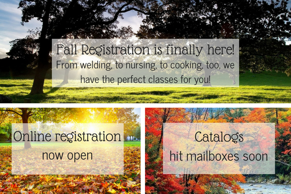 Fall Registration is finally here