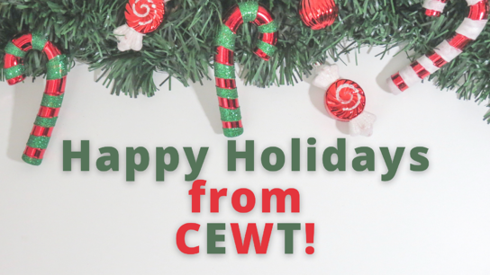 Happy Holidays from CEWT!