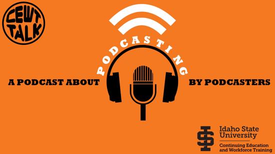 Podcasting background