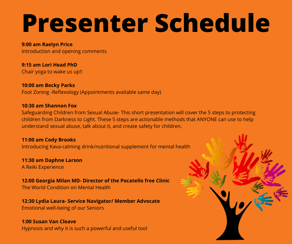 Presenter Schedule