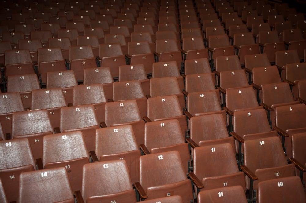 Seats in theatre
