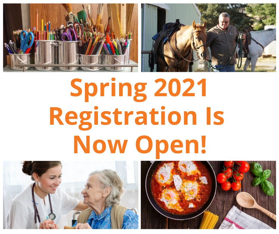 Spring 2021 is Now Open