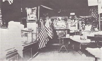 burroughs' store interior, 1899