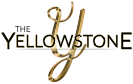 The Yellowstone Logo_Gold on White