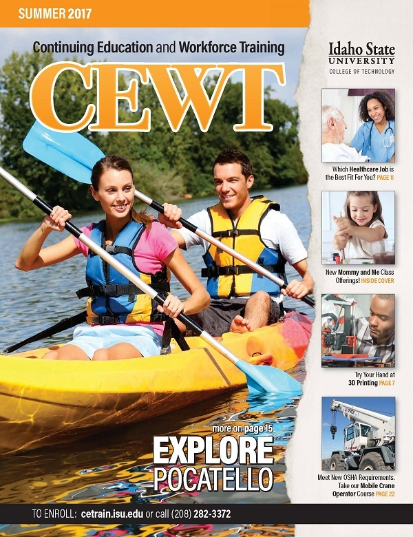 ISU CEWT 2017 Summer Catalog Cover