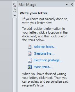 how to print labels in word
